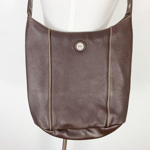 The Sak Original Brown Pebbled Leather Purse